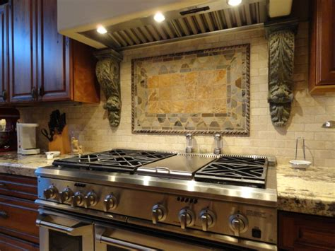 Kitchen Range Backsplash Kitchen Family Room 371 S Equestrian Ct