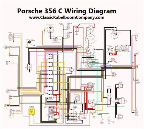 porsche 356c wiring diagram 28 images classic