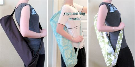 tutorial yoga bag yoga mat bag tutorial sewtorial