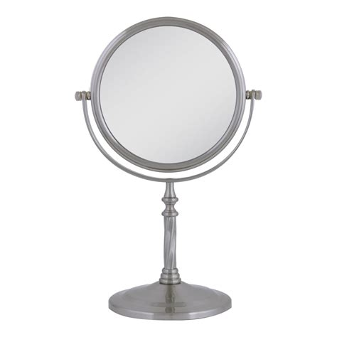 swivel mirror bathroom satin nickel mirror swivel vanity mirror interior