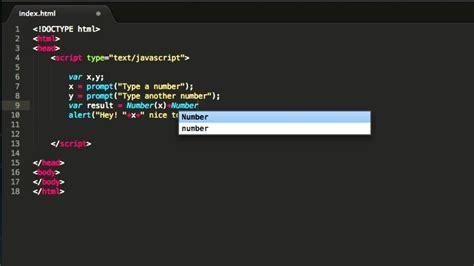 tutorial javascript prompt javascript tutorial using the prompt and number