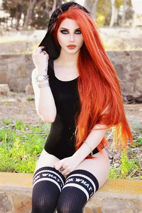 cute sexy gothic girls images  pinterest