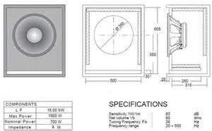 Bass Cabinet Design Speaker Plans