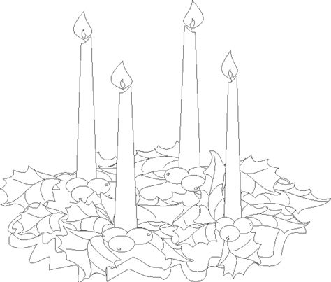 advent wreath candles coloring page free coloring pages of advent candles