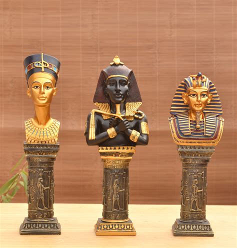 vasi canopi egiziani resin crafts ornaments european statues pharaoh