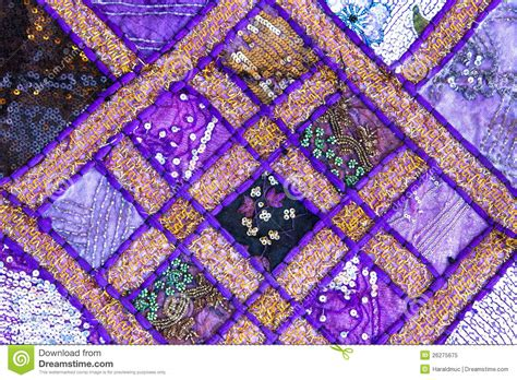 Handmade India - handmade quilt from india stock image image of format