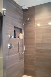 Bath Shower Remodel Highlands Ranch Modern Bath Remodel Da Vinci Remodeling