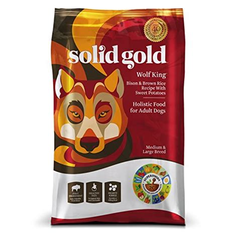 solid gold puppy food solid gold holistic whole grain food with superfoods and new ebay