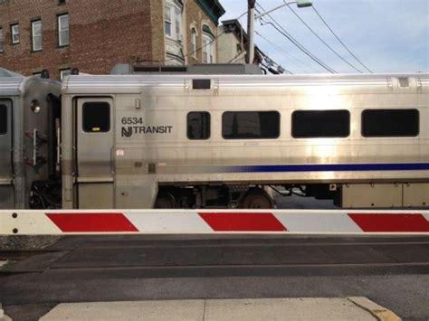 hudson light rail schedule hudson bergen light rail service restored into and out of