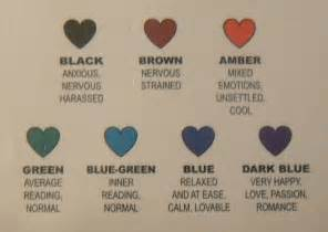 mood necklace color meanings mood necklace colors meanings colours meanings