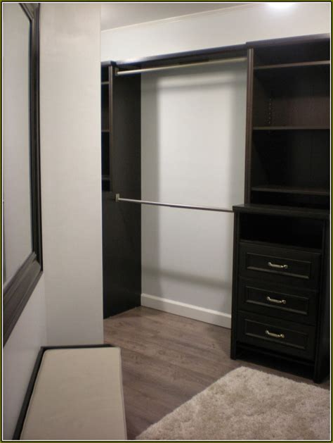 Wood Closet Rod Home Depot by Wood Wardrobe Closet Home Depot Home Design Ideas