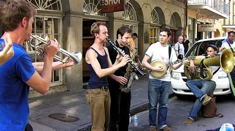 french swing music new orleans dixieland on street youtube