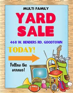 Used Photo Booth For Sale Make A Multi Family Yard Sale Poster Yard Sale Poster Ideas