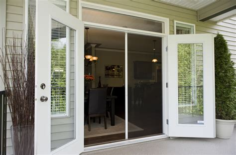 Phantom Screen Door by Retractable Door Screens Ontario Screen Systems Inc
