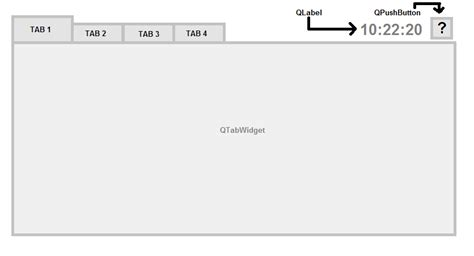 qtabwidget tutorial c add widgets into a qtabwidget stack overflow