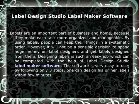 label design studio software label design studio label maker software