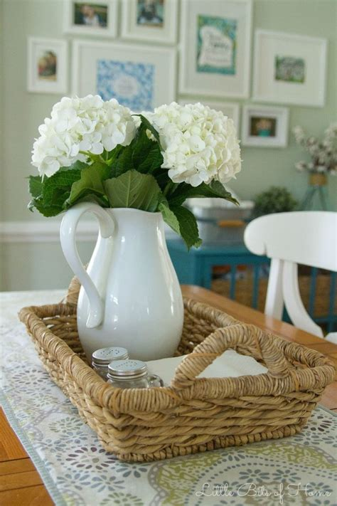 ideas for kitchen table centerpieces 25 best ideas about kitchen table centerpieces on