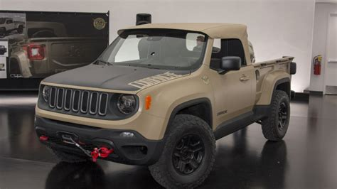 renegade jeep truck jeep renegade comanche concept photo gallery autoblog