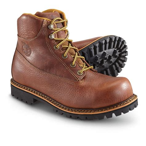boots for mens work s boot 174 6 quot chieftan steel toe work boots