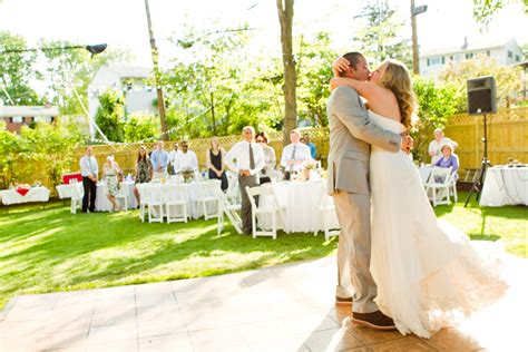 budget weddings east intimate backyard diy wedding every last detail