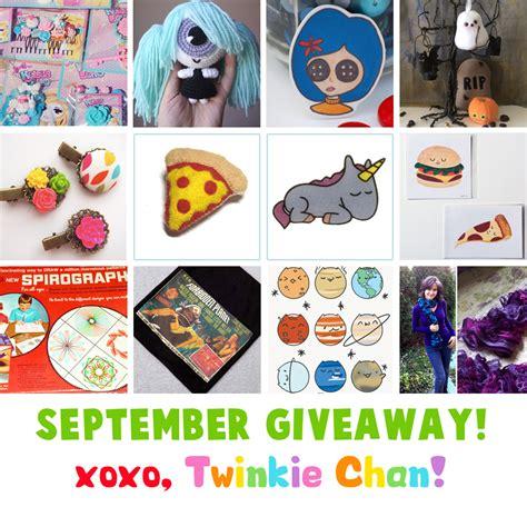 Sponsor Giveaway - september blog sponsor giveaway twinkie chan blog