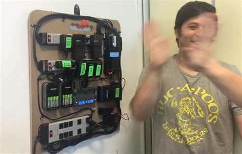 homemade charging station create an epic diy battery charging station for your gear