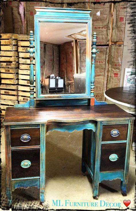 antique vanity refinishing a 35 garage sale find