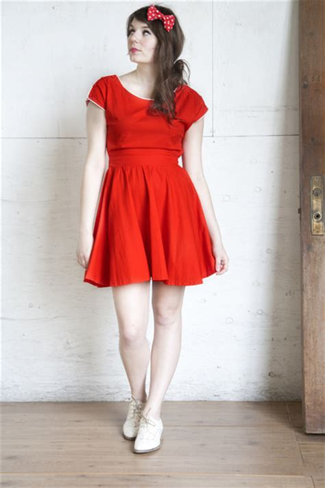 matric dresses with flat shoes and hair styles red modcloth dresses white modcloth flats red hair bow