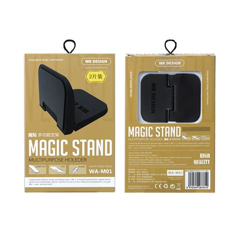 Wk Magic Stand Laptop Tablet Dan Smartphone Holder Wa M01 Promo wk design wa m01 multifunctional anti skid foldable desktop stand holder for phone tablet laptop