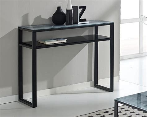 console shops black coffee tables and console tables contemporary