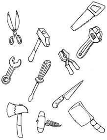 color each tool coloring pages hellokids com