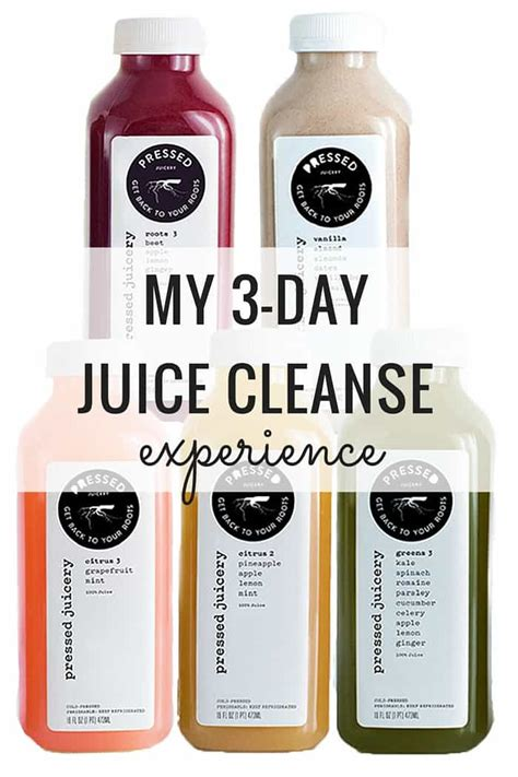 Liquid Detox 3 Days by My 3 Day Juice Cleanse Experience Simply Quinoa