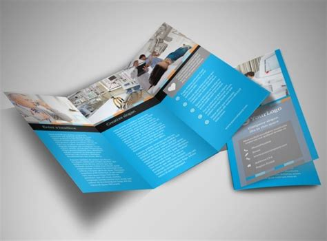 medical device tri fold brochure template
