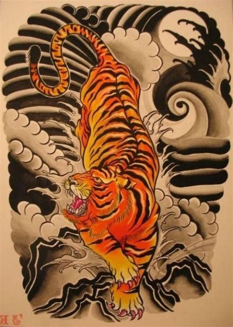 japanese style tiger tattoo designs best 25 japanese tiger ideas on