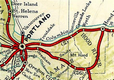 map of oregon eagle creek oregon of state eagle creek to portland