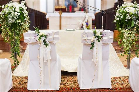 Christian Wedding Reception Decorations by 9 Strikingly Simple Ideas On Church Decoration For Wedding