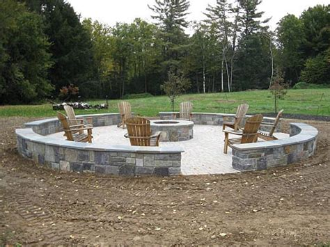 Large Firepit Outdoor Living By Carpenter Costin Rutland Vt