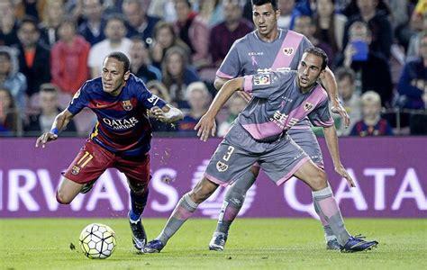 rayo vs barcelona en directo y en vivo marca