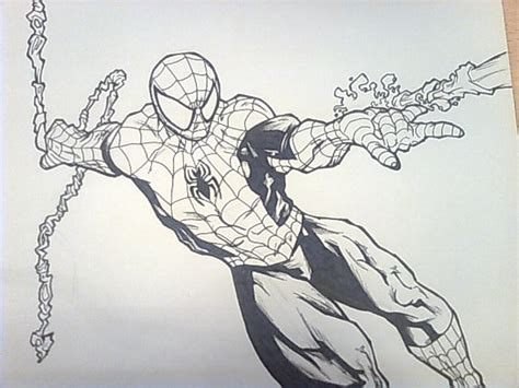 imagenes spiderman negro spiderman en blanco y negro imagui