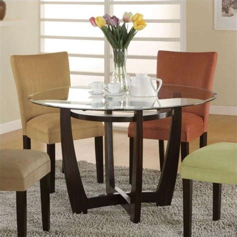 coaster bloomfield dining table in cappuccino