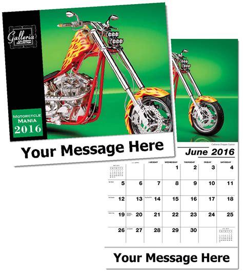custom motorcycles bikes calendars personalized in bulk