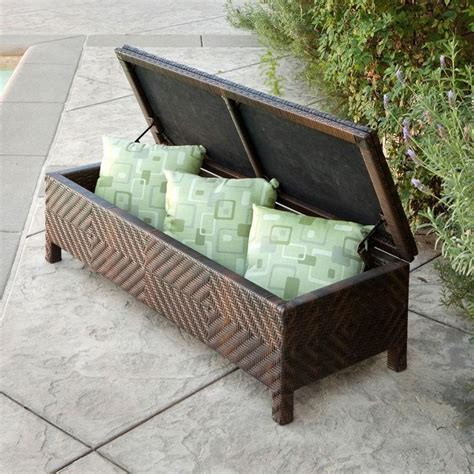 Outdoor Storage Ottoman Bench Best 25 Ottoman Bench Ideas On