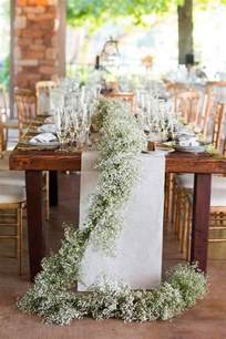 Top Wedding Table Decorations by 23 Baby S Breath Wedding Decor Ideas And