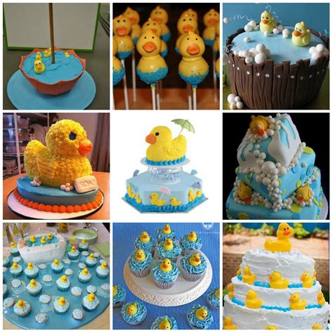 Baby Shower Duck Favors by Rubber Duck Theme Rubber Ducky Baby Shower Cakes