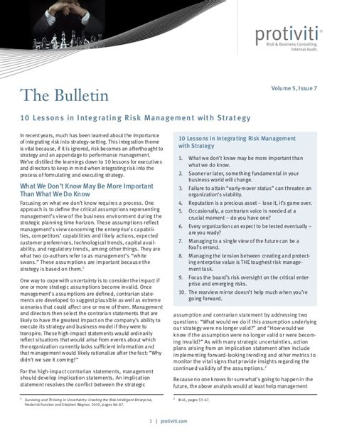 the factor 10 lessons in managing up for gain books 10 lessons in integrating risk management with strategy