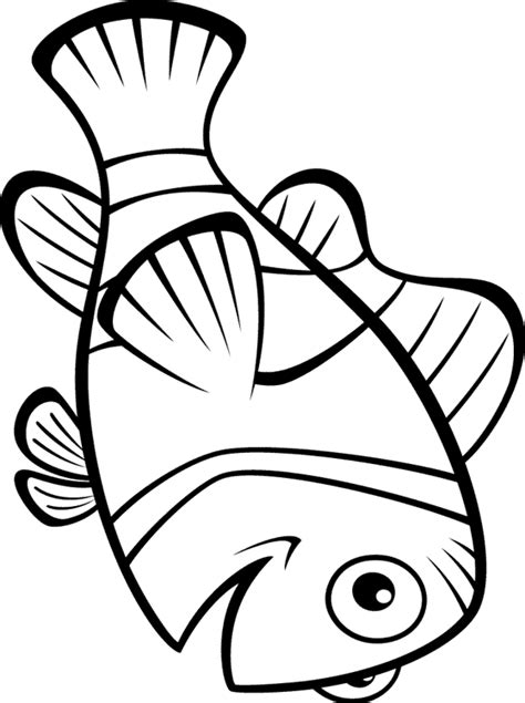 finding nemo coloring pages marlin print it