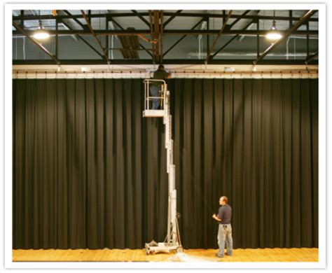 drapery installation service luxout stage curtains services stage curtain