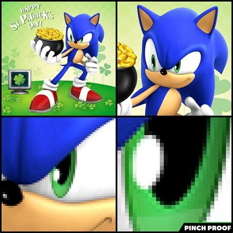 sonic the hedgehog meme sonic the hedgehog on quot not today pinchers