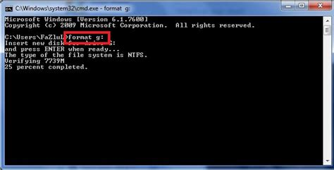 format dvd rw using command prompt how to format usb pen drives using command prompt to