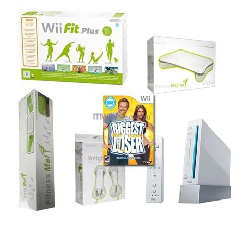 nintendo wii console bundle with wii fit plus pack nintendo wii console bundle with wii fit plus bundle